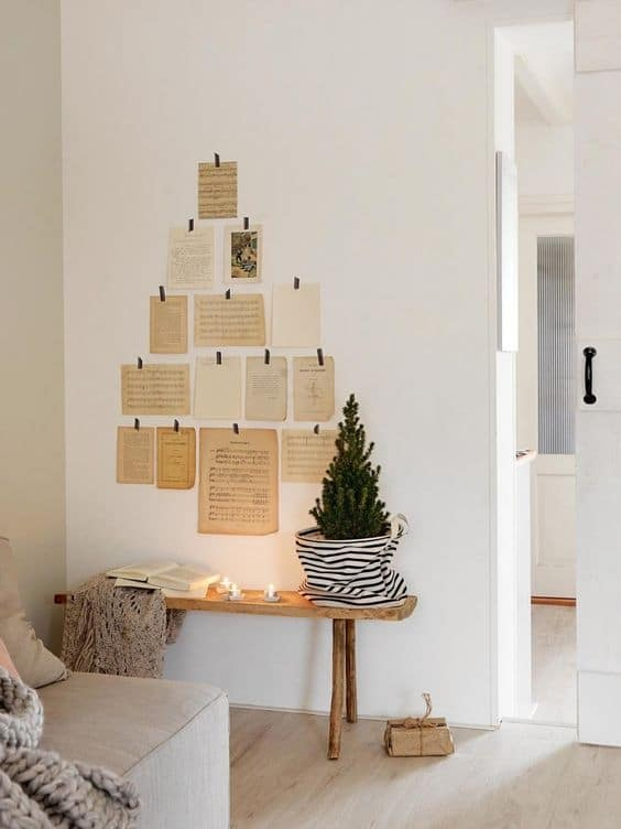 Ecological and/or zero waste Christmas decoration 2019