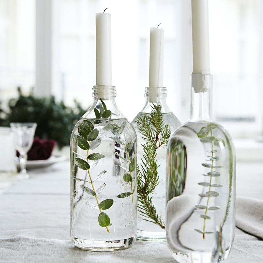 deco de mariage table bougies naturel diy handmade