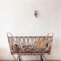 lit ou berceau bébé enfant chambre occasion vintage seconde main