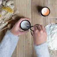 bougie made in france cire de soja saine non toxique
