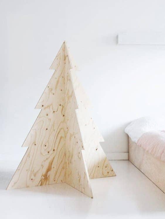 sapin en bois structure diy a faire soi meme