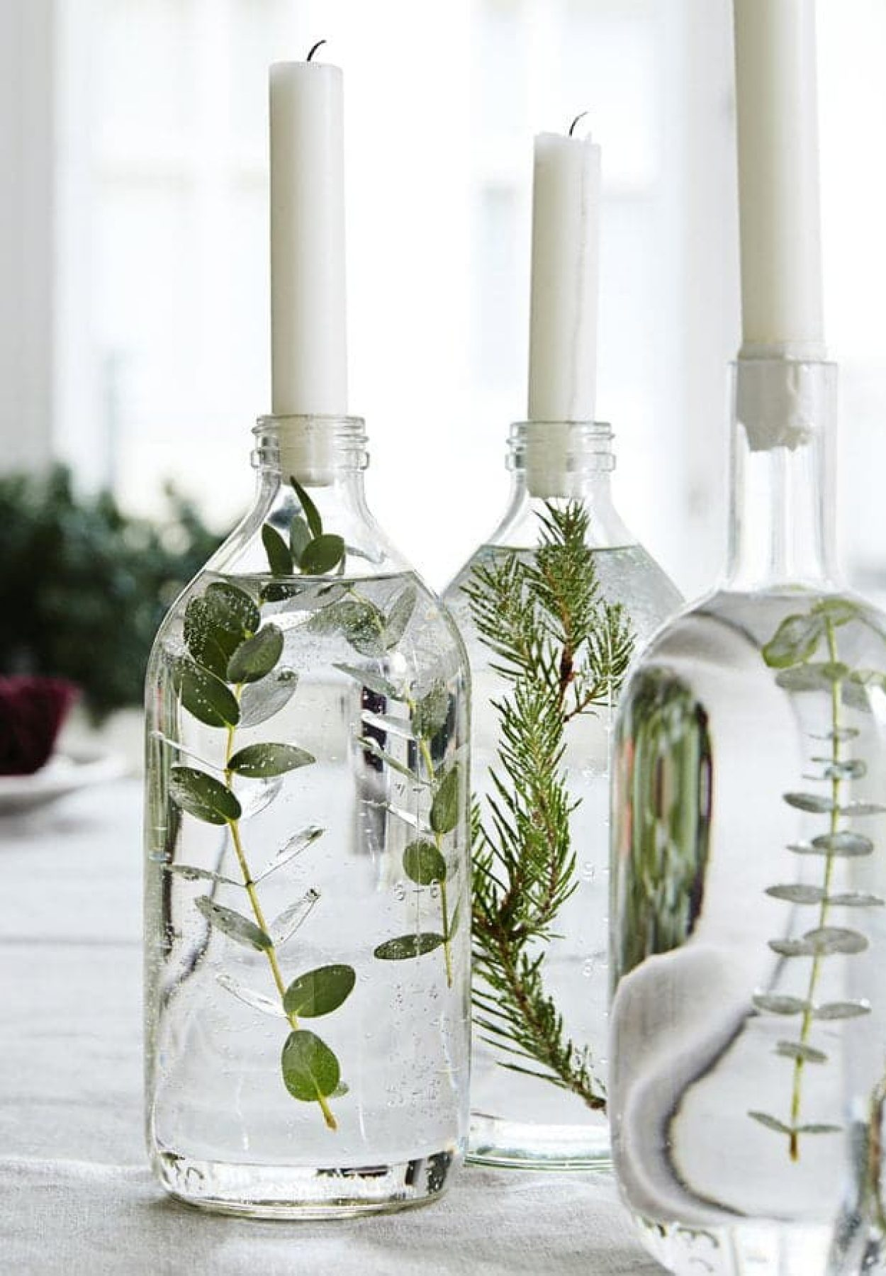 Deco De Table Bougie ecological and/or zero waste wedding decoration
